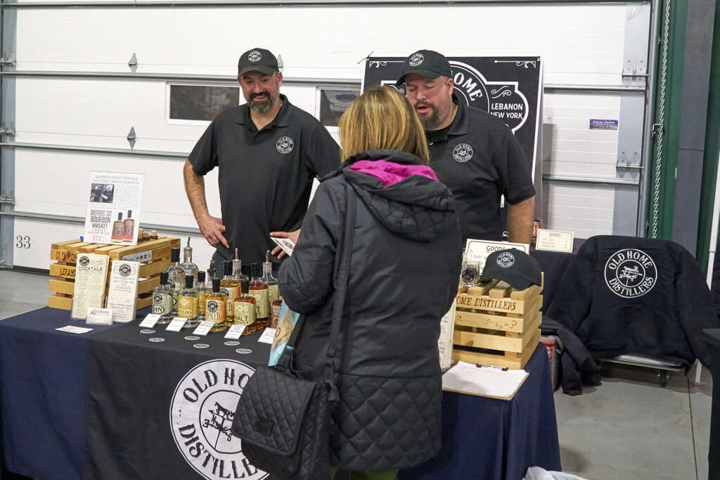 Old Home distillers at the SyracuseFirst Buy Local Bash
